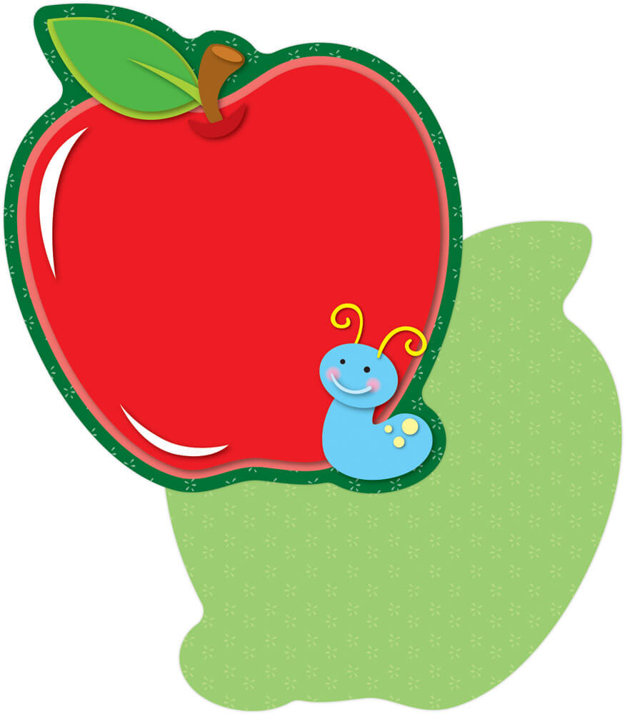 Apples with Worm   Mini Cut-Outs Product Image