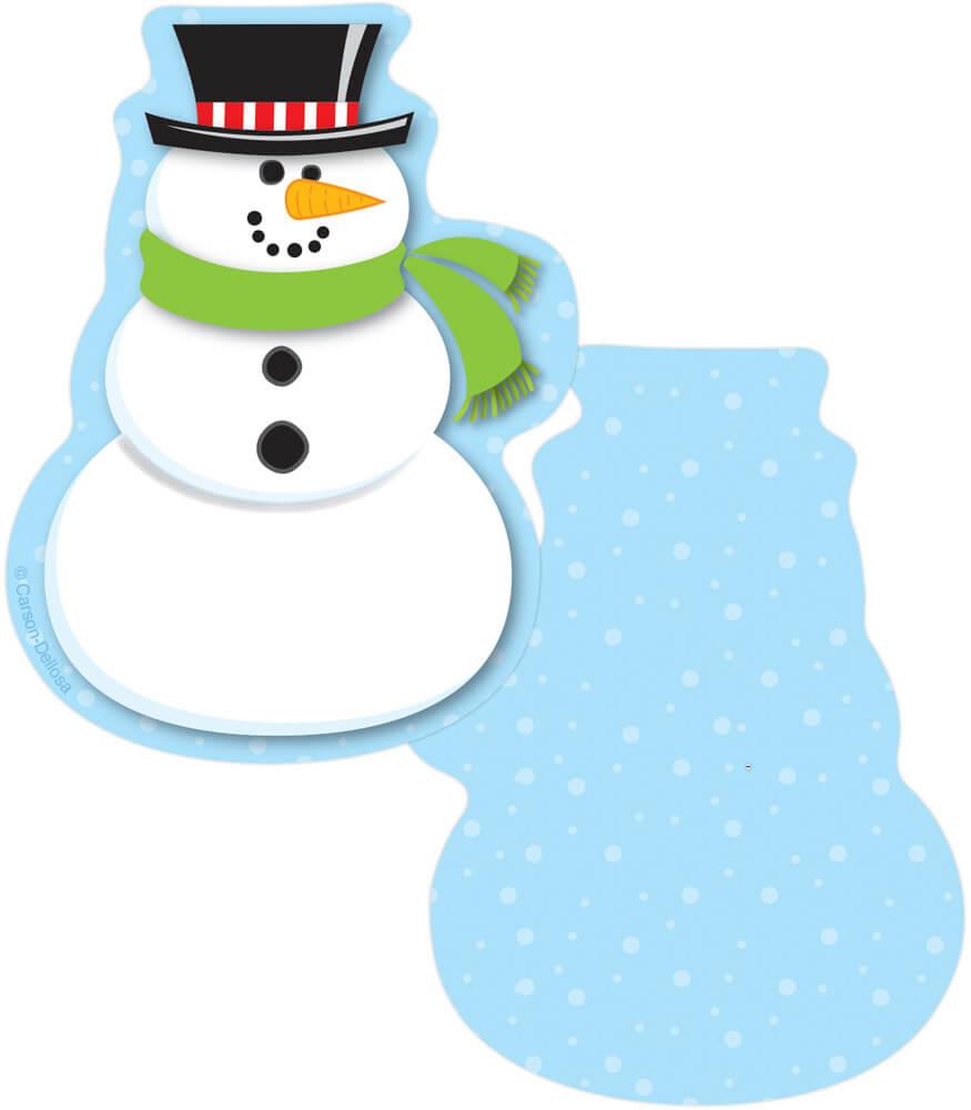 Snowmen Mini Cut-Outs Product Image