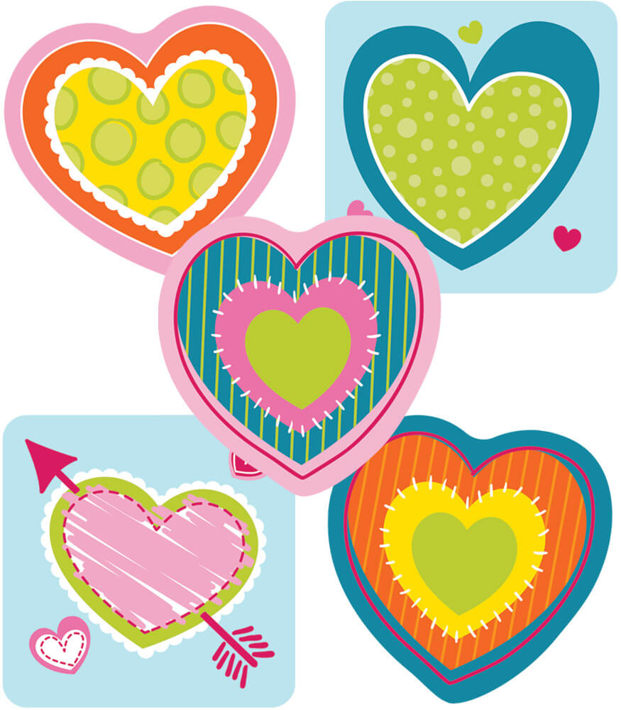 Hearts Mini Cut-Outs Product Image