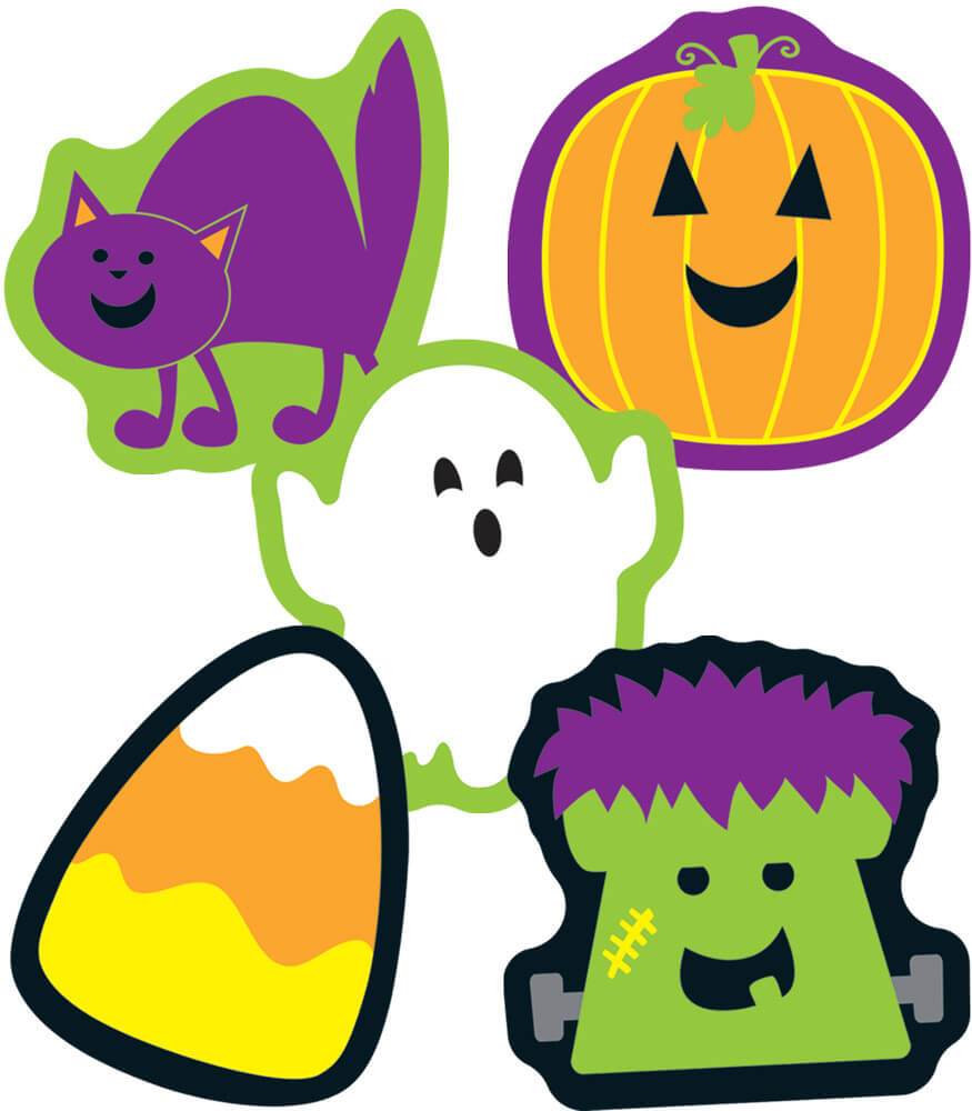 Halloween Mini Cut-Outs Product Image