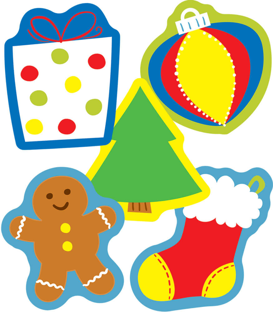 Holiday Mix Mini Cut-Outs