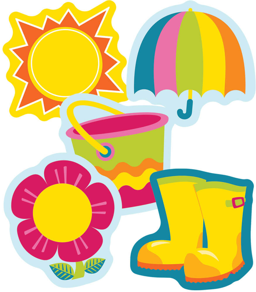 Spring Mix Mini Cut-Outs Product Image
