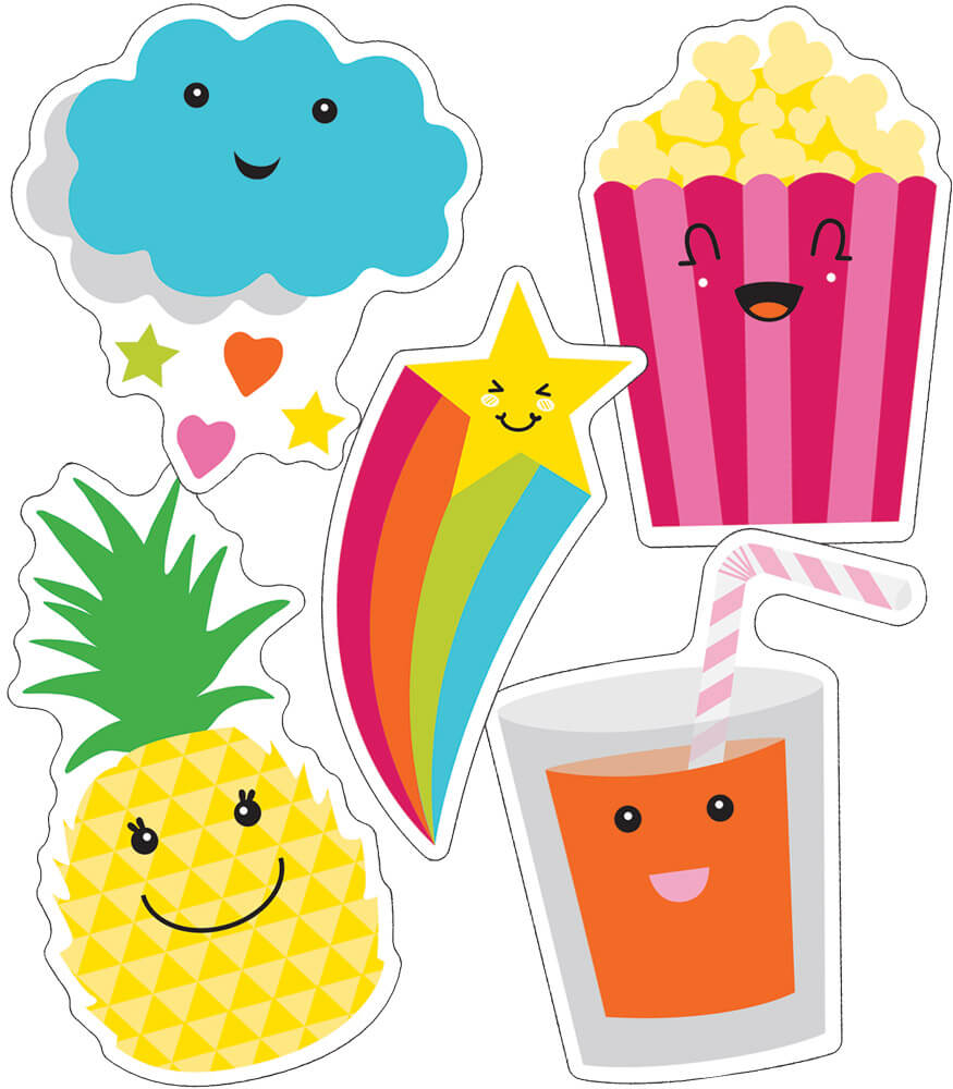 School Pop Pop Delight Cut-Outs Product Image