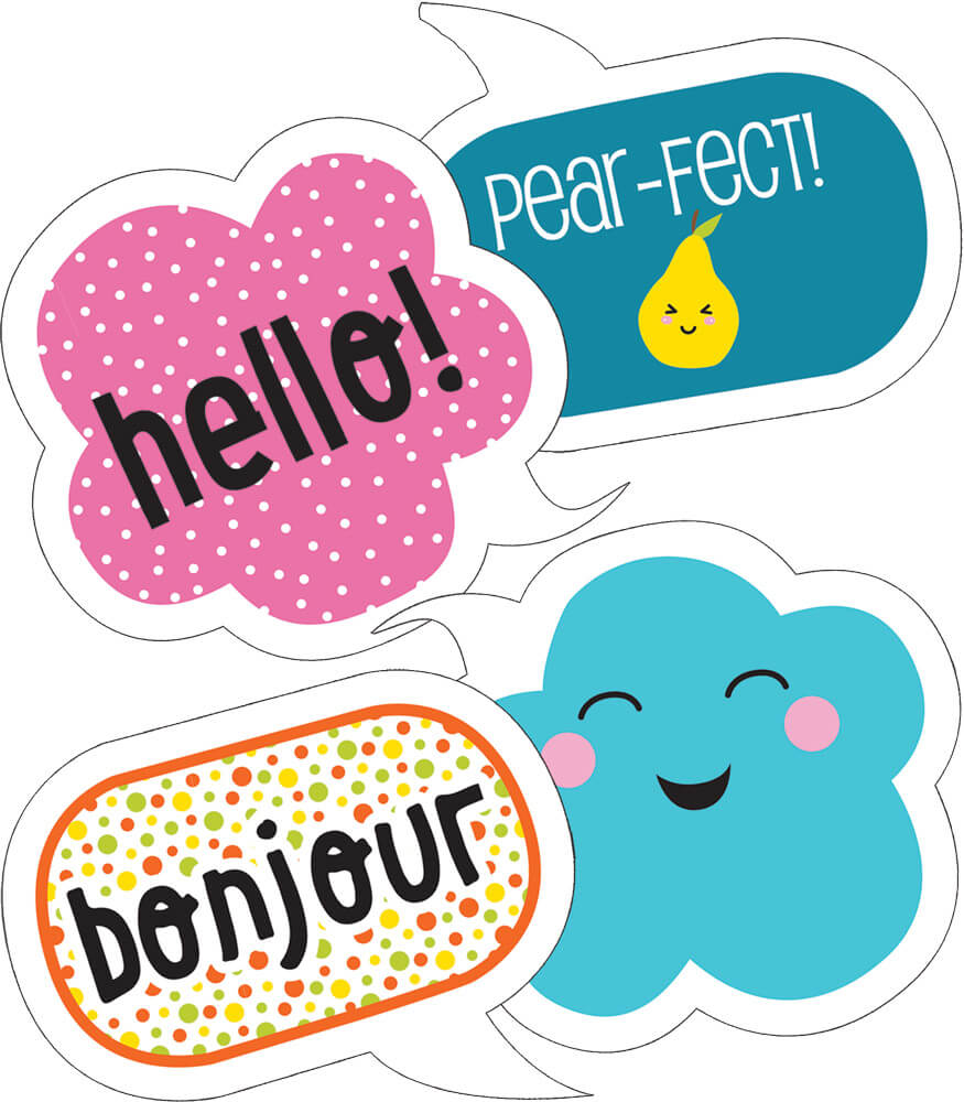 School Pop Happy Talk Cut-Outs Product Image