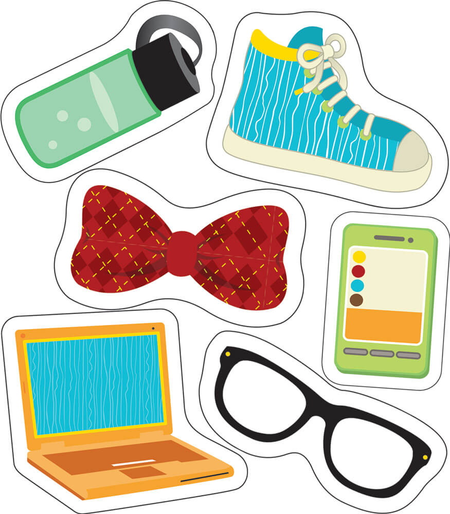 Hipster Gear Mini Cut-Outs Product Image