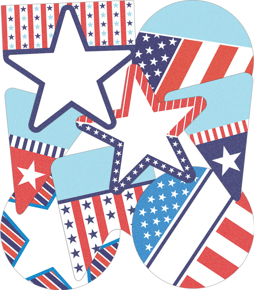 Stars and Stripes Cut-Outs Product Image