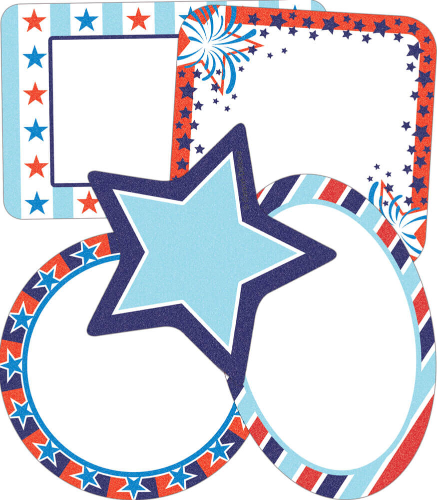 Star-Spangled Mini Cut-Outs Product Image