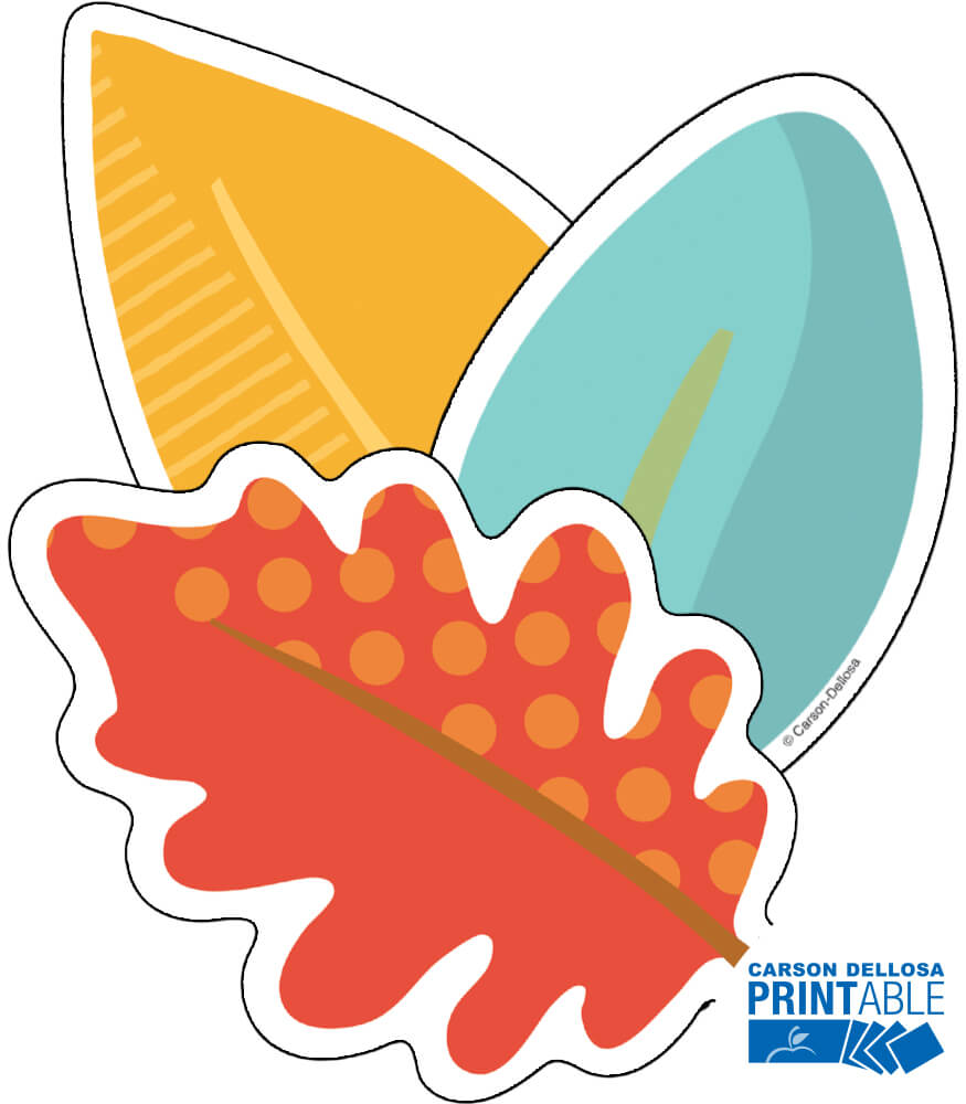 Leaves Printable Cut-Outs Product Image