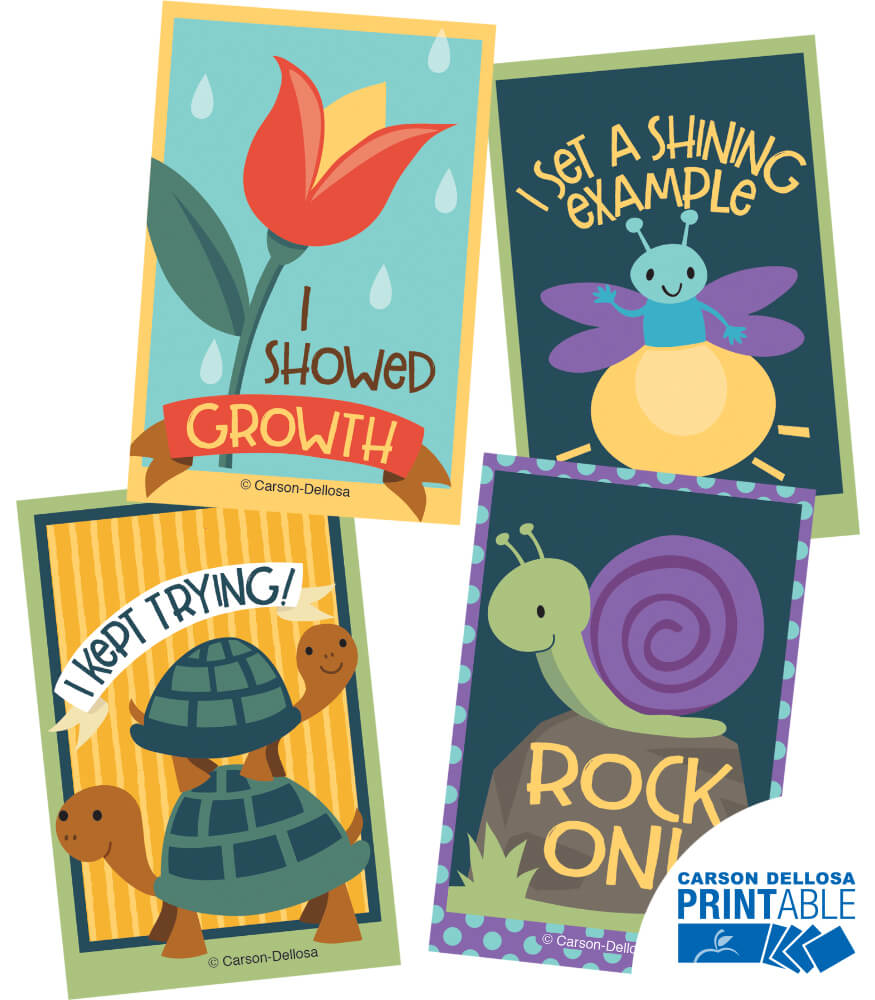 Nature Explorers Reward Tags Printable Awards & Rewards Product Image