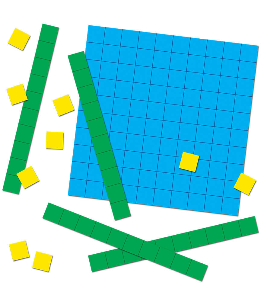 Base Ten Blocks Curriculum Cut-Outs Product Image