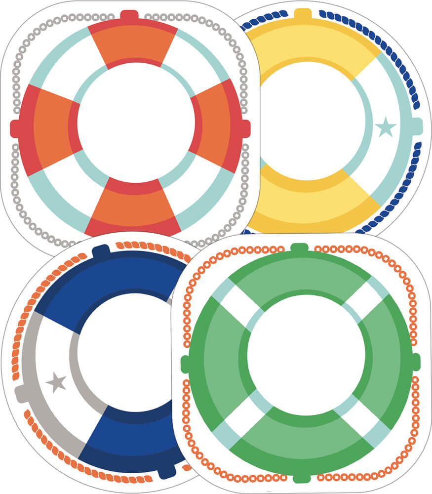Life Preservers Cut-Outs Product Image