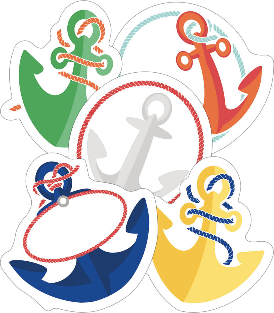 Anchors Mini Cut-Outs