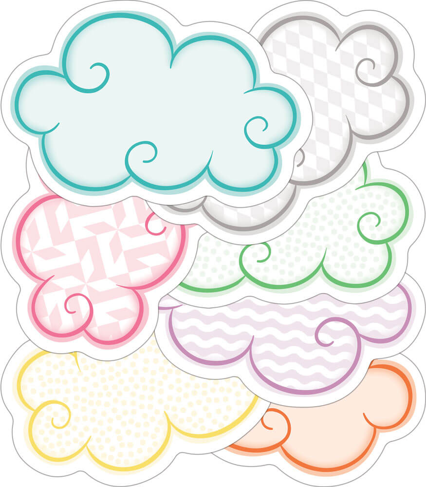 Clouds Mini Cut-Outs Product Image