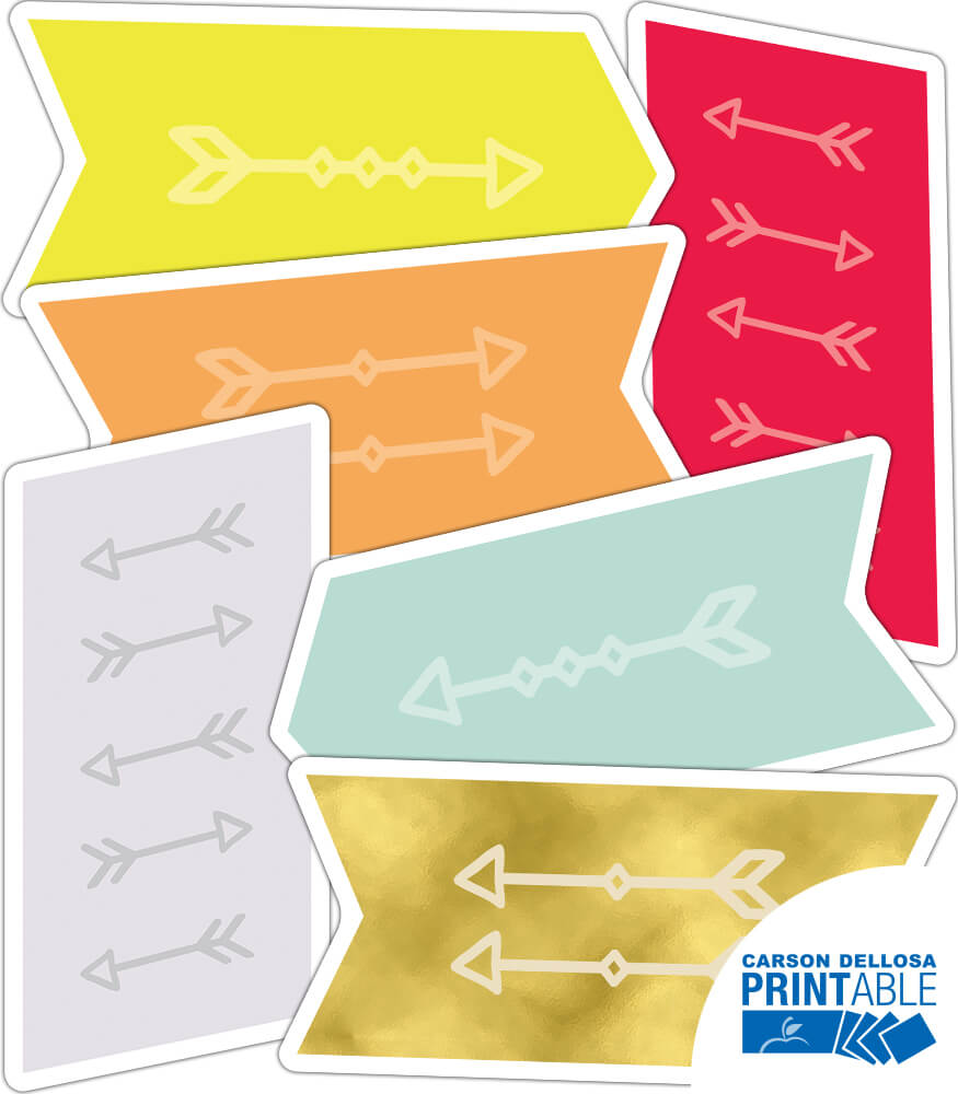 Arrows Printable Cut-Outs Product Image