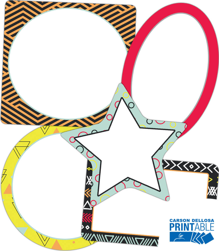 Frames Printable Cut-Outs Product Image