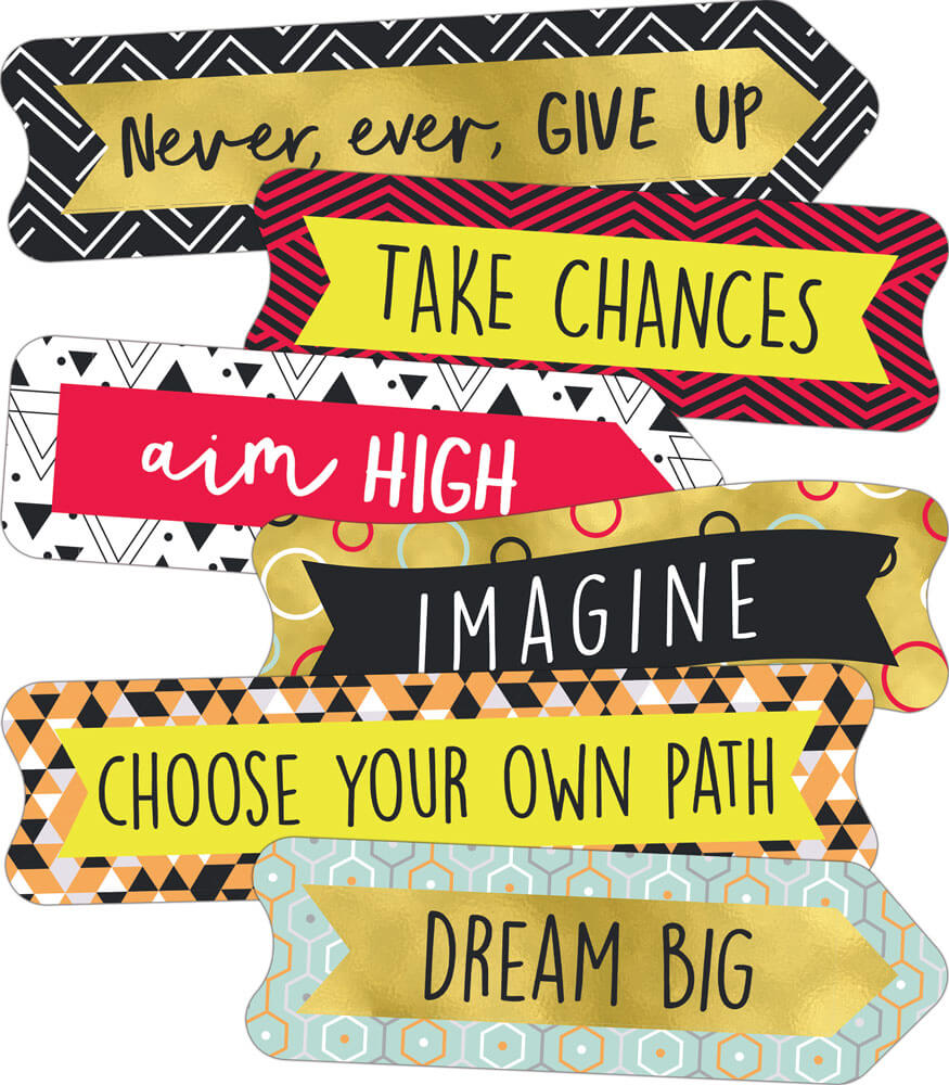Aim High Banners Mini Cut-Outs Product Image