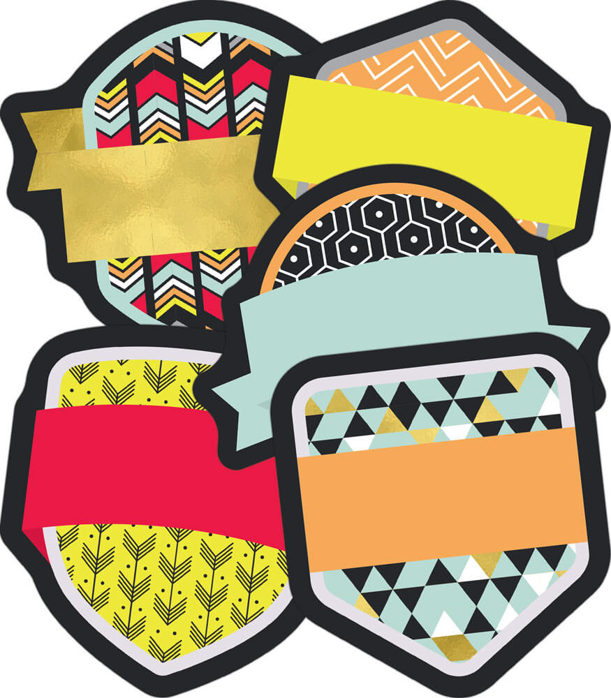 Badges Mini Cut-Outs Product Image