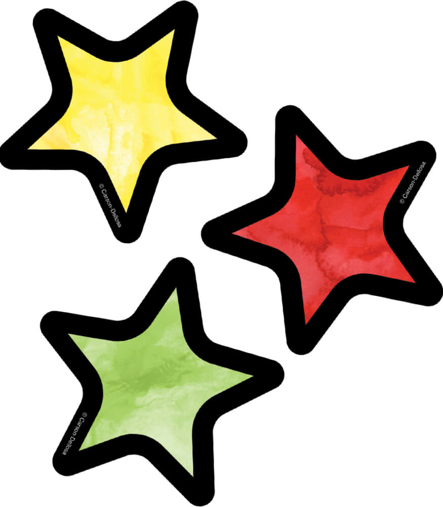 Stars Mini Cut-Outs Product Image