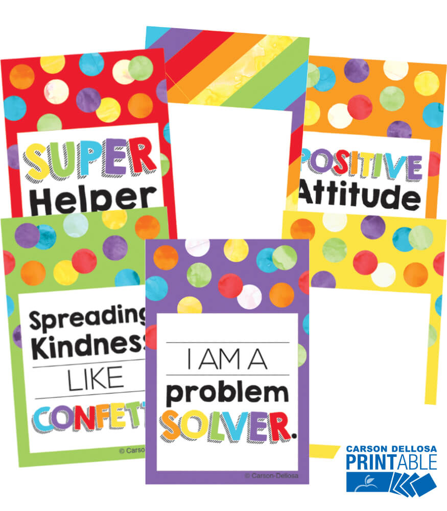 Celebrate Learning Reward Tags Printable Awards & Rewards Product Image