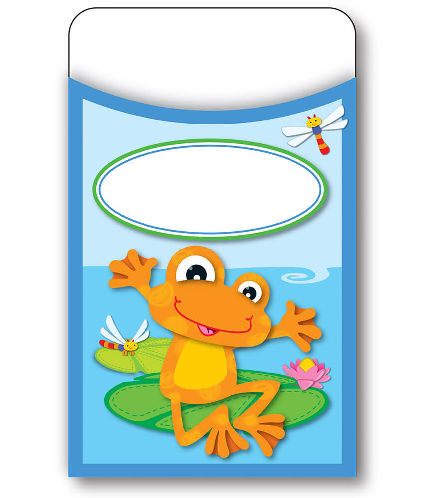 FUNky Frogs Library Pockets Product Image