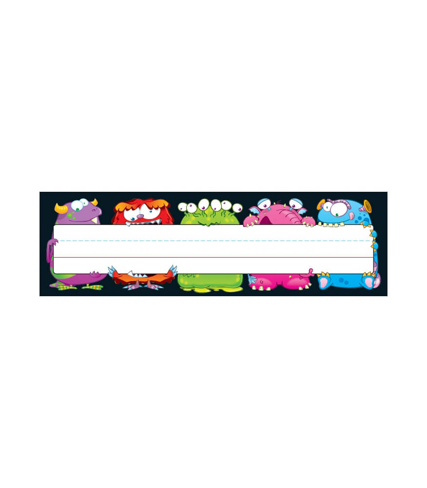 Monsters Nameplates Product Image