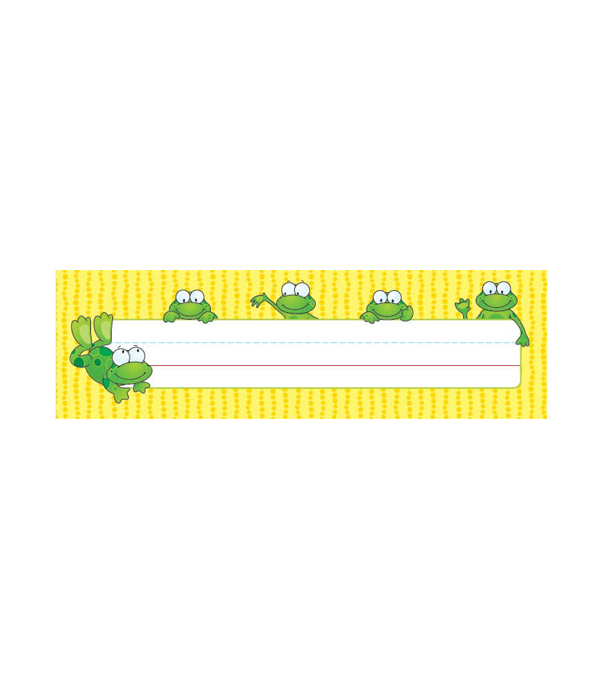 Frogs Nameplates Product Image
