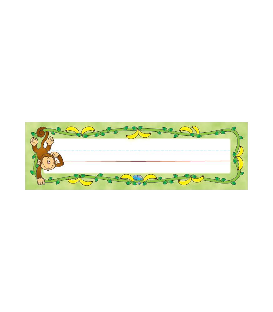 Monkey Nameplates Product Image