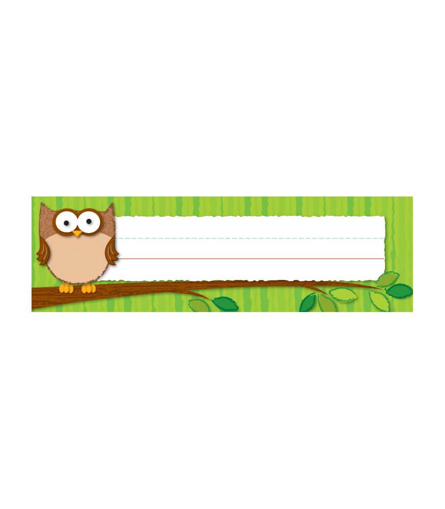 Owls Nameplates Product Image