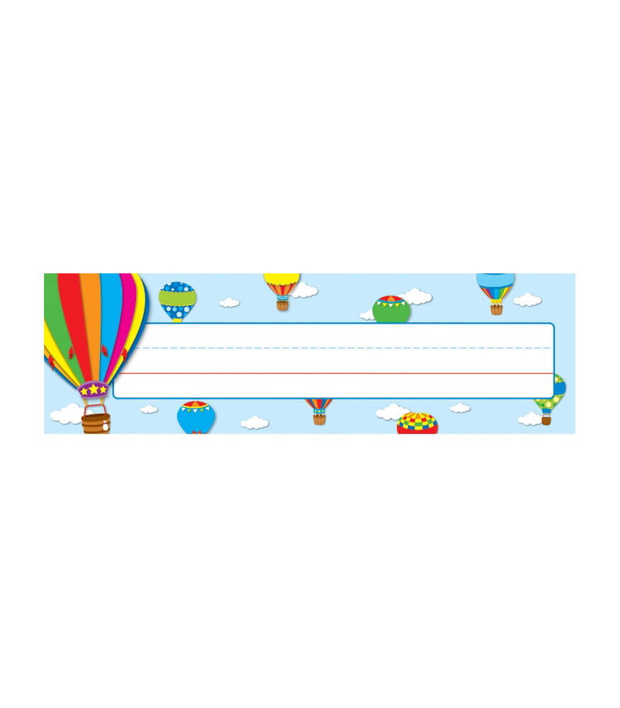 Hot Air Balloons Nameplates Product Image