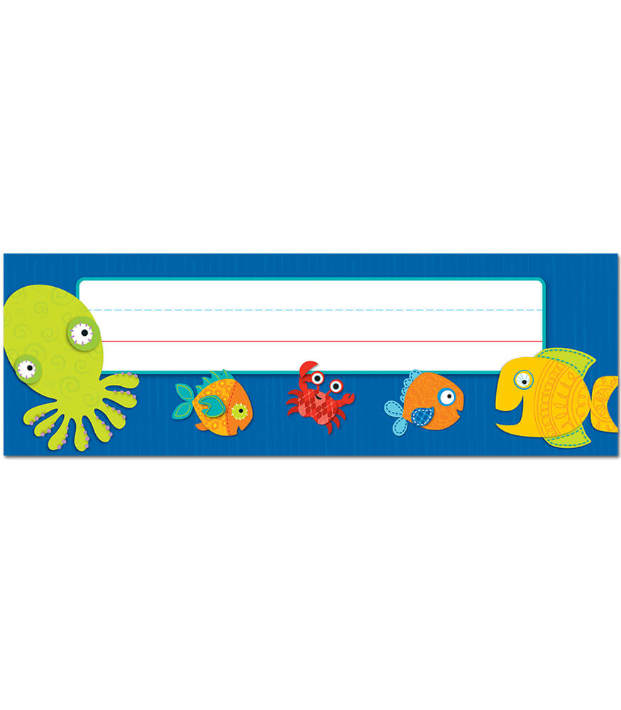 Seaside Splash Nameplates Product Image