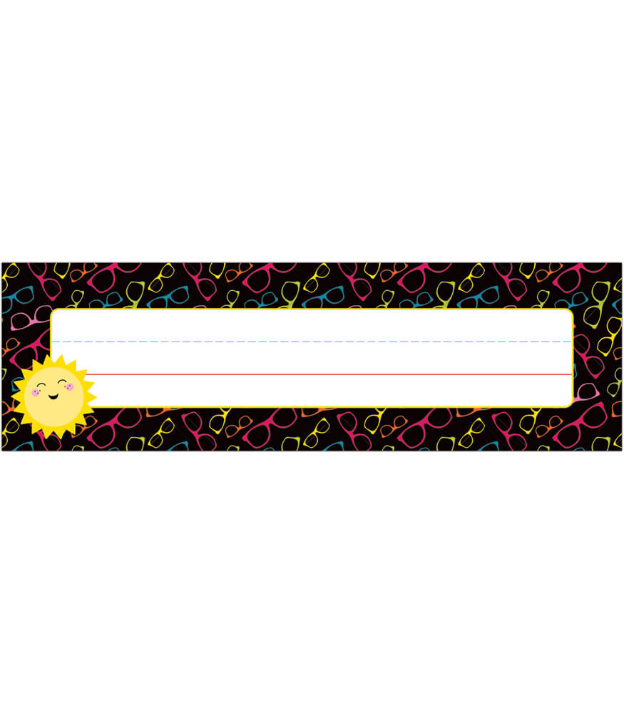 School Pop Nameplates Product Image