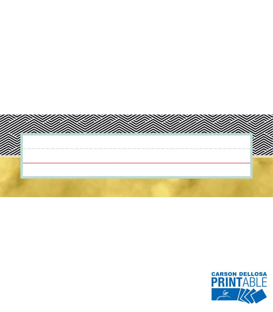 Nameplates Printable Nameplates Product Image