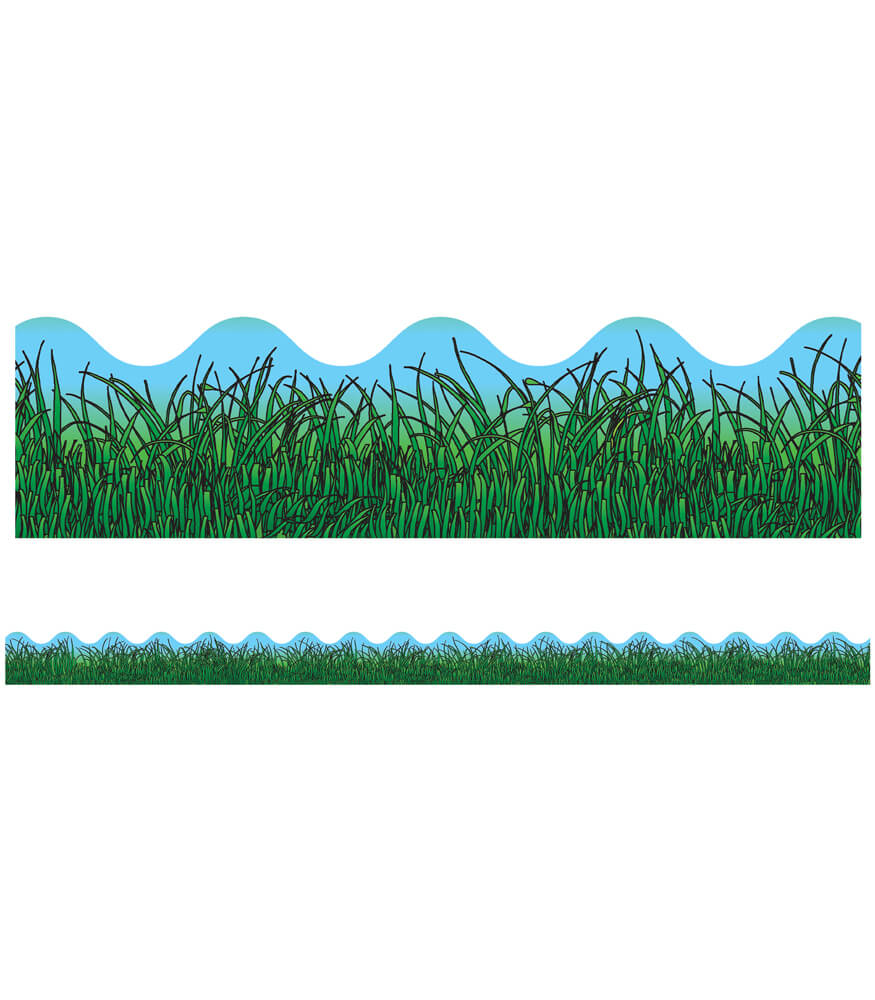 Grass Scalloped Borders Product Image