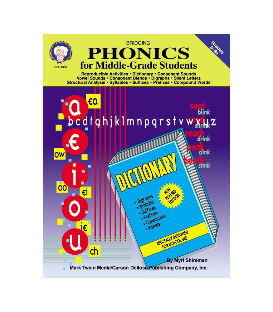 Bridging Phonics for Middle-Grade Students Resource Book Product Image