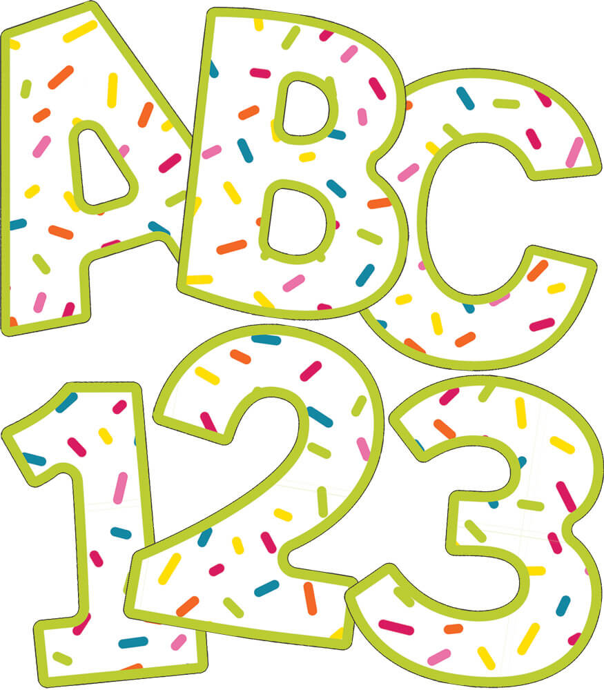 School Pop EZ Letters Product Image