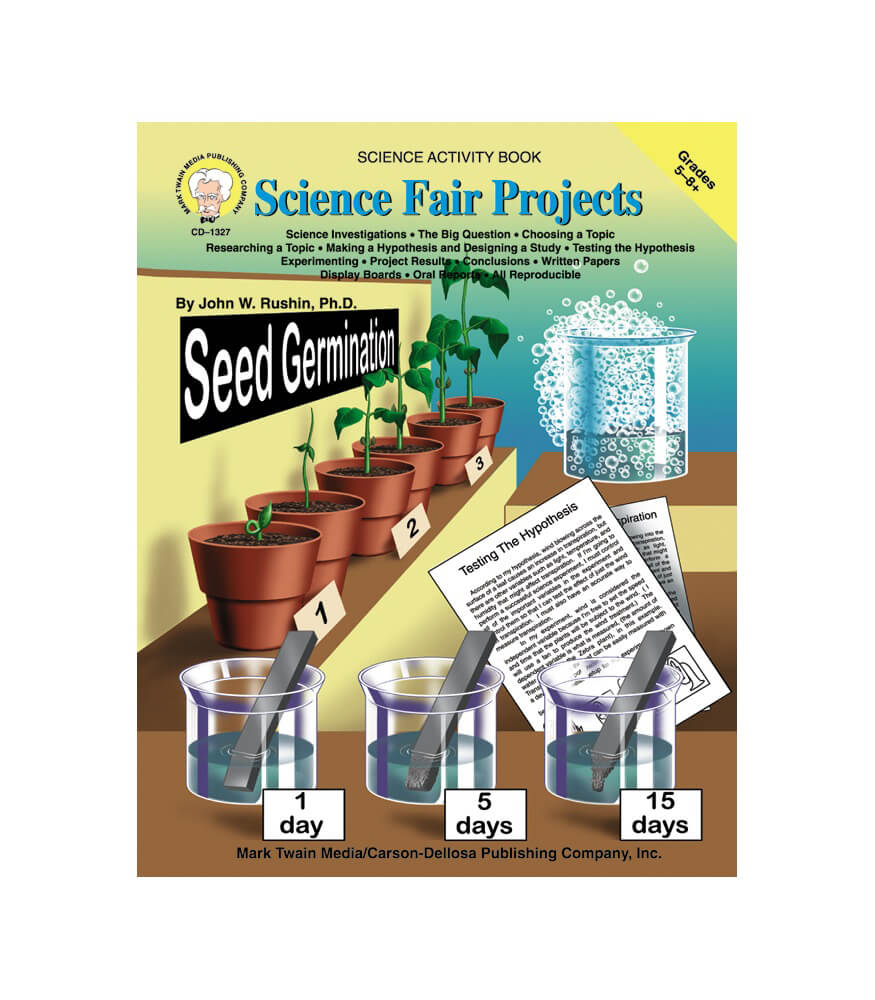 Science Fair Projects Resource Book Product Image