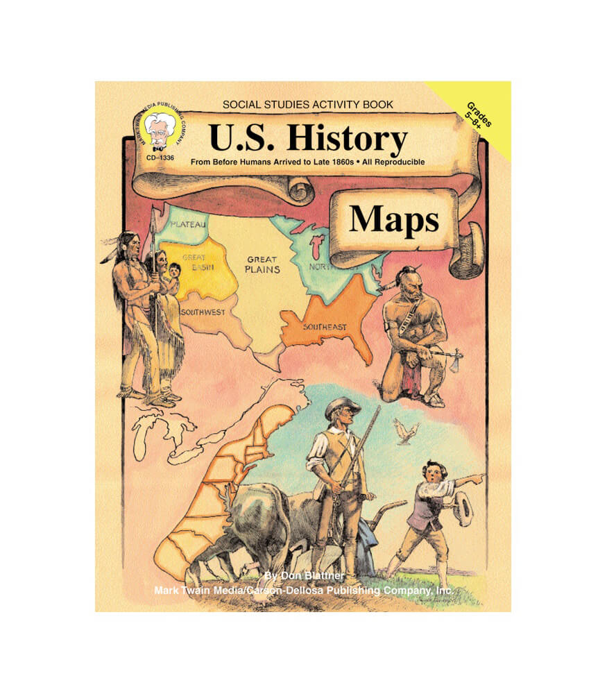U.S. History Maps Resource Book Product Image