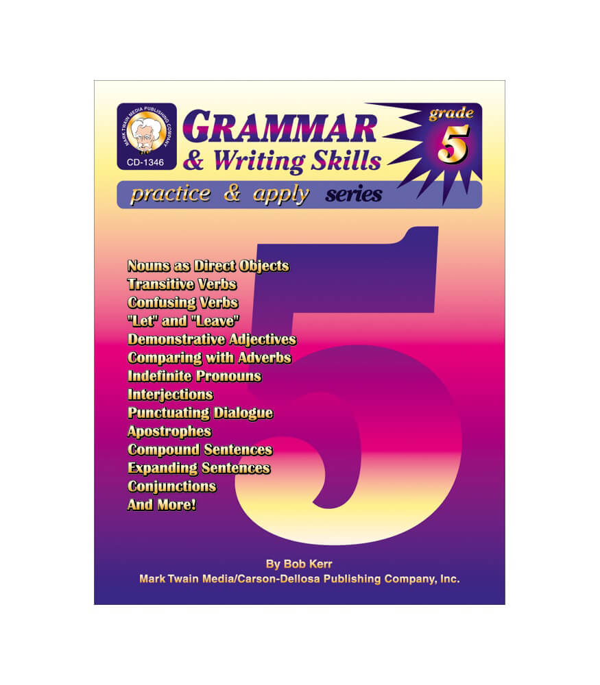 Grammar & Writing Skills Resource Book Product Image