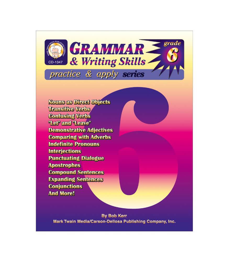Grammar & Writing Skills Resource Book Product Image