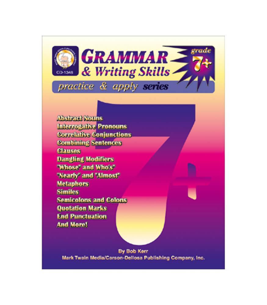 Grammar writing skills resource book grade 7 8 carson dellosa grammar writing skills resource book fandeluxe Images