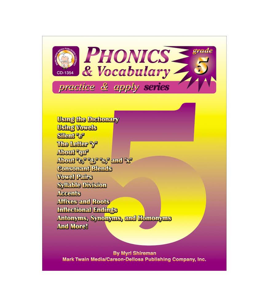 Phonics & Vocabulary Skills Resource Book Product Image