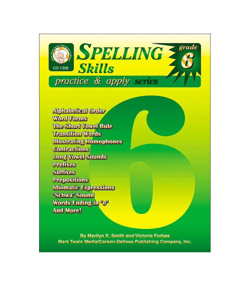 Spelling Skills Resource Book Product Image
