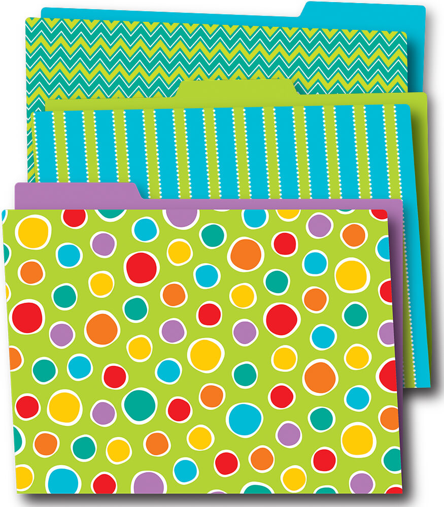 Fresh Sorbet File Folders Product Image