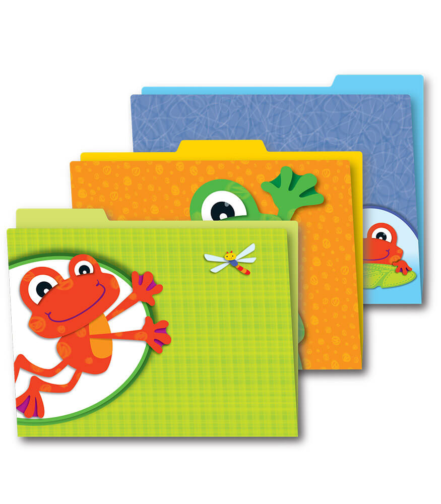 FUNky Frogs File Folders Product Image