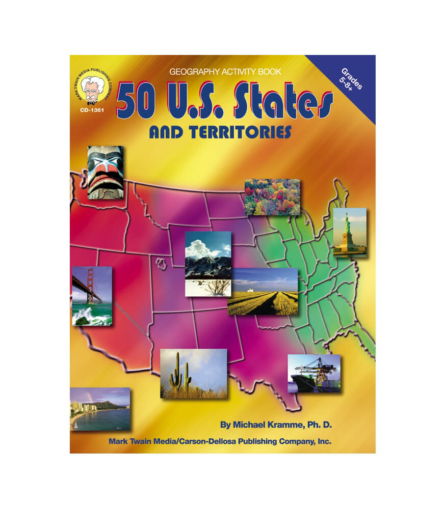 50 U.S States and Territories Resource Book Product Image