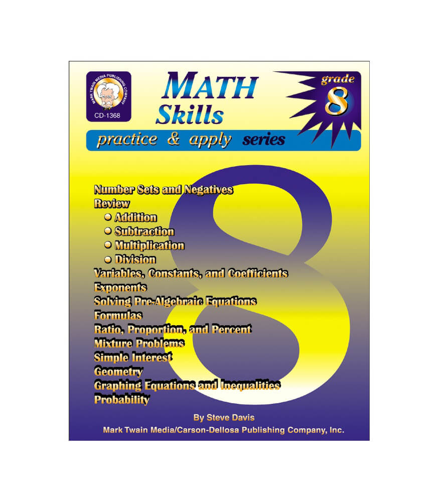 Math Skills Resource Book Product Image