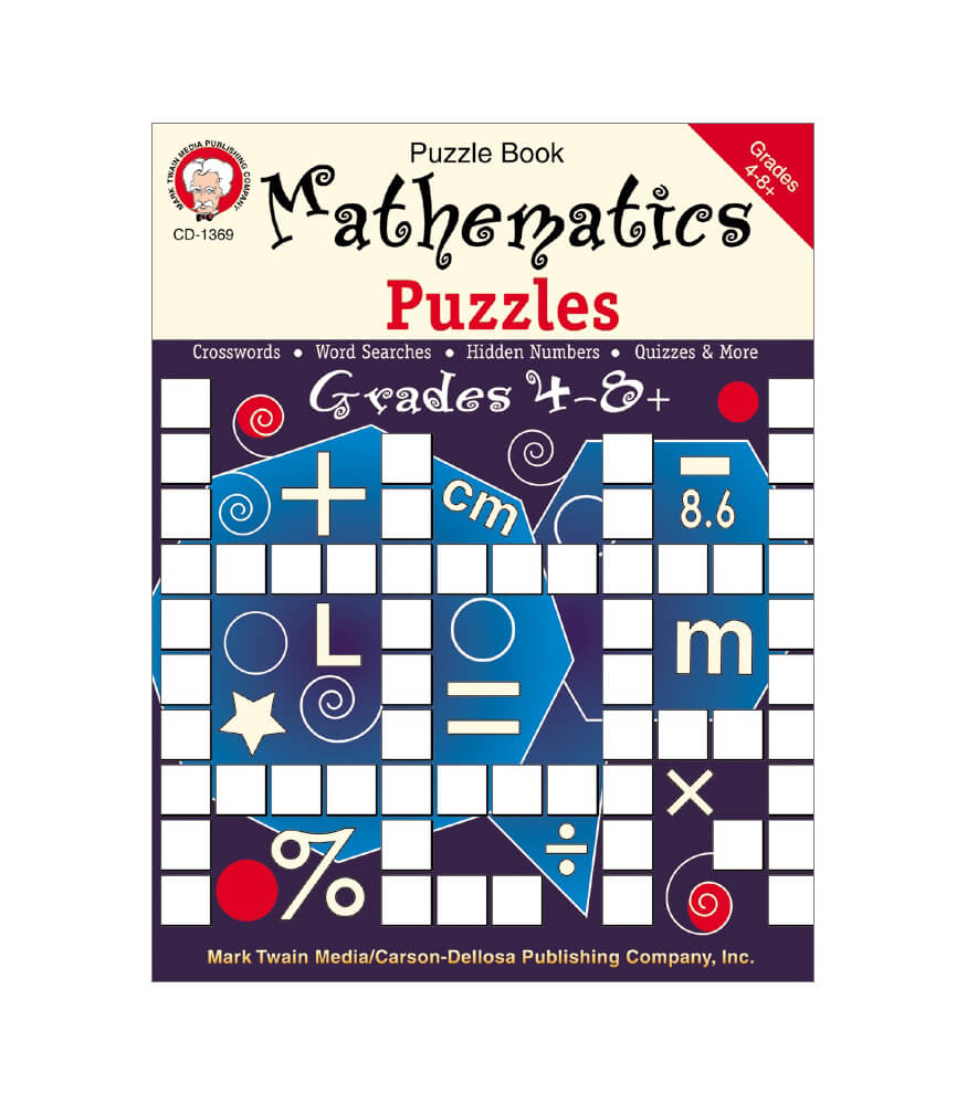 Mathematics Puzzles Resource Book Product Image
