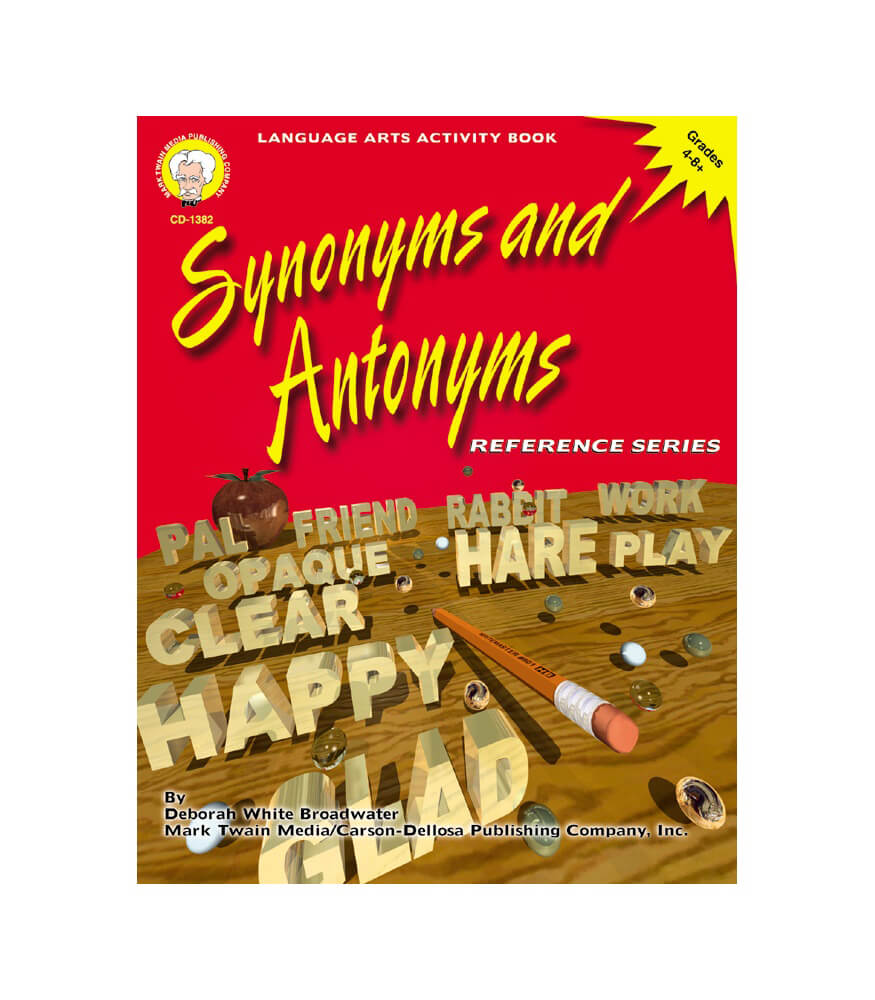 Synonyms and Antonyms Resource Book Product Image