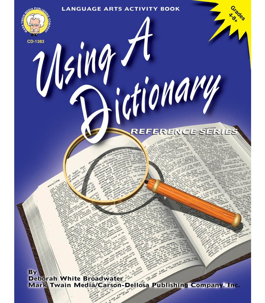 Using a Dictionary Resource Book Product Image