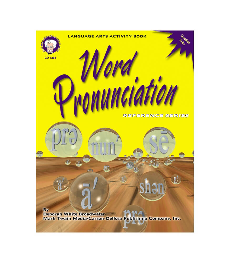 Word Pronunciation Resource Book Product Image
